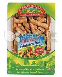 Produktabbildung: Bernard Matthews Hähnchen Filetstreifen 125 g