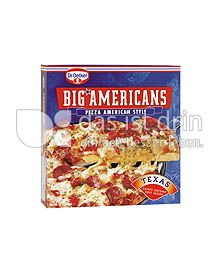 Produktabbildung: Dr. Oetker Big Americans Texas