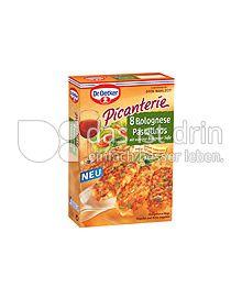 Produktabbildung: Dr. Oetker Picanterie Bolognese Pastalinos