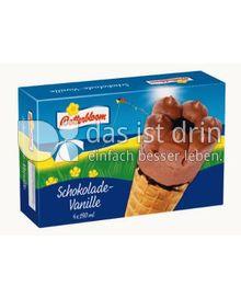 Produktabbildung: Botterbloom Schoko-Vanille Hörnchen