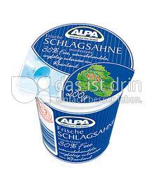Produktabbildung: Alpa Frische Schlagsahne 200 g
