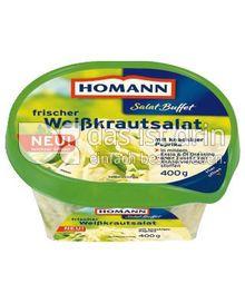Produktabbildung: Homann Salat Buffet frischer Weißkrautsalat 400 g