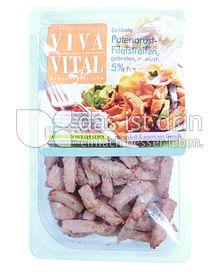 Produktabbildung: Viva Vital Putenbrustfiletstreifen 150 g