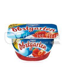 Produktabbildung: Danone Obstgarten Erdbeere 125 g