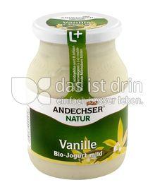 Produktabbildung: Andechser Natur Bio-Jogurt mild, Vanille 3,7% 500 g