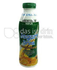 Produktabbildung: Andechser Natur Bio Trink-Jogurt, Orange-Mango 500 g
