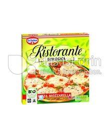 Produktabbildung: Dr. Oetker Ristorante Pizza Biologica Pizza Mozzarella 335 g