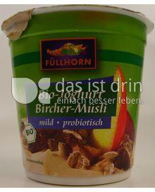 Produktabbildung: Füllhorn Bio-Joghurt Bircher-Müsli 150 g