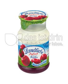 Produktabbildung: Landliebe Joghurt auf erlesenen Kirschen 150 g
