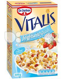 Produktabbildung: Dr. Oetker Vitalis Joghurt Müsli 600 g