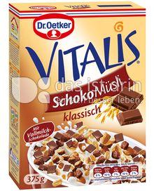Produktabbildung: Dr. Oetker Vitalis Schoko Müsli klassisch 375 g