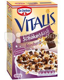 Produktabbildung: Dr. Oetker Vitalis Schoko Müsli feinherb 600 g