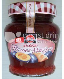 Produktabbildung: Schwartau extra Pflaume-Marzipan 330 g