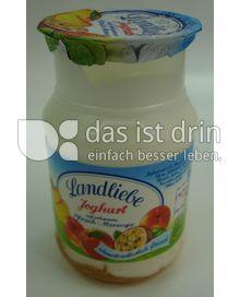 Produktabbildung: Landliebe Joghurt aus erlesenem Pfirsich-Maracuja 150 g