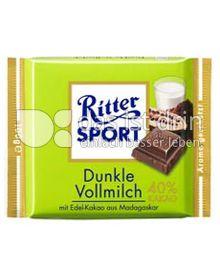 Produktabbildung: Ritter Sport Dunkle Vollmilch 100 g