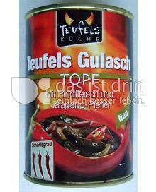 Produktabbildung: Teufels Küche Teufels Gulasch Topf 400 g