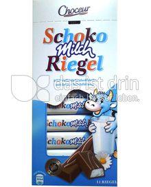 Produktabbildung: Choceur Schoko Milch Riegel 200 g