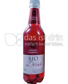 Produktabbildung: Bio Drink Holunder Cranberry 0,5 l