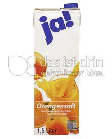 Produktabbildung: Ja! Orangensaft 1,5 l