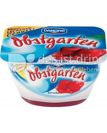 Produktabbildung: Danone Obstgarten Kirsche 125 g