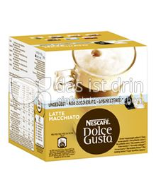 Produktabbildung: Nescafé Dolce Gusto Latte Macchiato Ungesüsst 16 St.