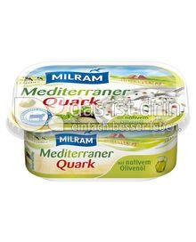 Produktabbildung: MILRAM Mediterraner Quark 200 g