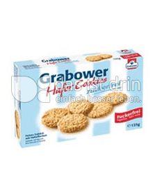 Produktabbildung: Grabower Hafer Cookies zuckerfrei 125 g