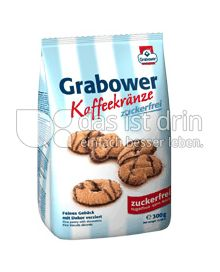 Produktabbildung: Grabower Kaffeekränze zuckerfrei 300 g
