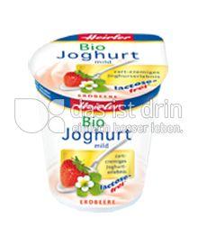 Produktabbildung: Heirler Bio Joghurt mild Erdbeere 150 g