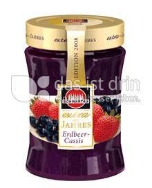 Produktabbildung: Schwartau extra Erdbeer-Cassis Konfitüre 340 g