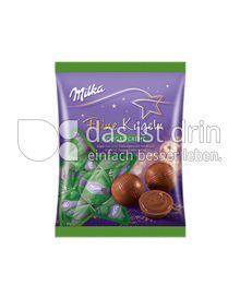 Produktabbildung: Milka Feine Kugeln Nougat-Crème 112,5 g
