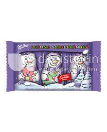 Produktabbildung: Milka Lustige Schneemänner 75 g