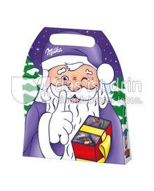 Produktabbildung: Milka Weihnachtsmann Naps Tasche 161 g