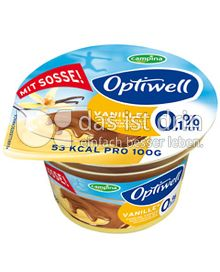 Produktabbildung: Optiwell Vanille Pudding 150 g