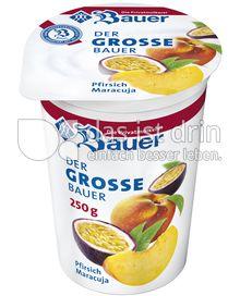 Produktabbildung: Bauer Der große Bauer Pfirsich-Maracuja 250 g