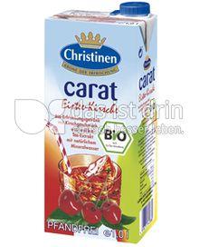 Produktabbildung: Christinen carat Bio-Eistee Kirsche 1 l