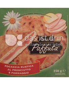 Produktabbildung: Mama mia Paffuta Focaccia Rustica al Prosciutto e Formaggio 350 g