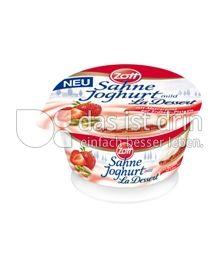 Produktabbildung: Zott Sahne-Joghurt La Dessert Erdbeer 150 g