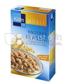 Produktabbildung: Kölln Müsli Knusper Klassik 600 g