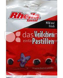 Produktabbildung: Rheila Konsul Veilchenpastillen 90 g