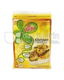 Produktabbildung: Du darfst Käseraspeln 150 g