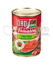 Produktabbildung: Hengstenberg Tomaten stückig mit Basilikum 400 g