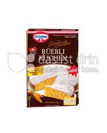Produktabbildung: Dr. Oetker Internationale Spezialitäten Rüebli Kuchen 340 g
