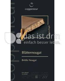 Produktabbildung: coppeneur Blätternougat 75 g
