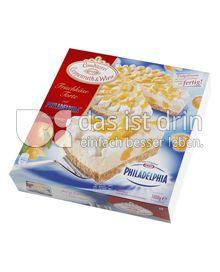 Produktabbildung: Conditorei Coppenrath & Wiese Frischkäse-Torte mit Philadelphia® Mandarine 1000 g