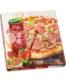 Produktabbildung: dennree Al Forno Pizza Salami 335 g