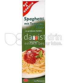 Produktabbildung: Gut & Günstig Spaghetti mit Tomatensauce 397 g