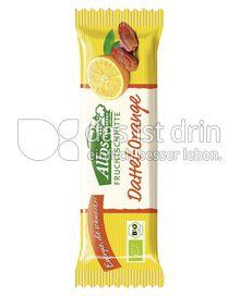 Produktabbildung: Allos Fruchtschnitte Dattel-Orange 40 g