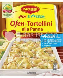 Produktabbildung: Maggi fix & frisch Ofen-Tortellini alla Panna 36 g