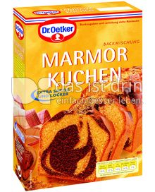 Produktabbildung: Dr. Oetker Marmor Kuchen 400 g